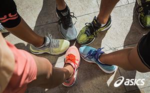 10 Pares de zapatillas Asics