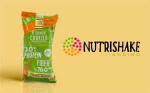 30 packs de 12 galletas Nutrishake