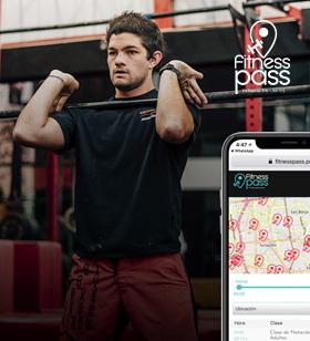 1 memebresía de 8 pass al mes <strong>Fitness Pass</strong>