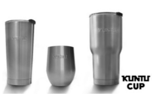 3 premios de 2 vasos gotas y 1 alto Kuntu Cup