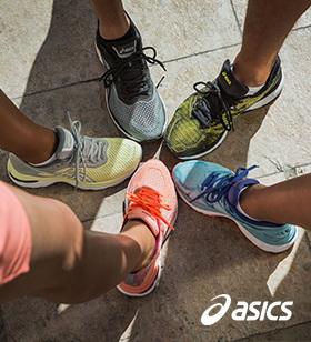 2 pares de zapatillas <strong>Asics</strong>
