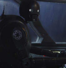 Este spin-off trae un nuevo droide: K-2SO – O Kay Tuesso para los amigos–  que fue creado originalmente por las fuerzas del Imperio Galáctico. Sin embargo, este se cruza con el Capitán Cassian Andor quien lo reprograma para que trabaje a favor de la Alianza Rebelde. K-2SO siempre estará dispuesto a decir la verdad sin importar quedar bien con el resto.